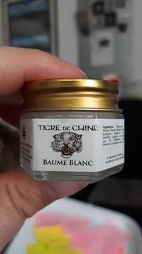 Tigre de Chine - Baume blanc