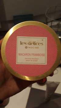 NOCIBÉ - Les délices macaron framboise - Baume douceur pour le corps