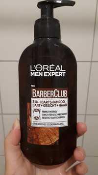 L'ORÉAL - Men expert Barberclub - 3-in-1 bartshampoo