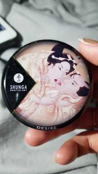 Shunga - Erotic art - Chandelle à massage