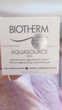 Biotherm - Aquasource - Gel hydratant régénération intense