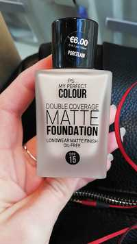 Primark - My perfect colour - Double coverage matte foundation