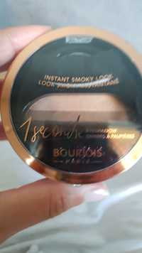 Bourjois - Look smoky instantané 1 seconde - Ombres à paupières