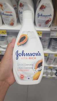 Johnson's - Vita-rich - Loçao corporal