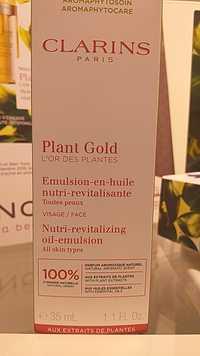 CLARINS - L'Or des plantes - Émulsion en huile nutri-revitalisante