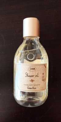 SABON - Green rose - Shower oil