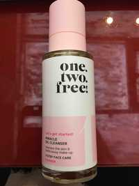 ONE.TWO.FREE! - Let's gel started! - Miracle oil cleanser