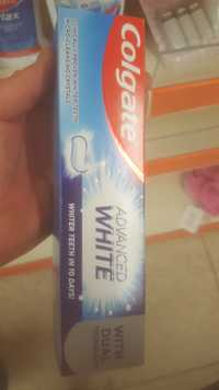 COLGATE - Advanced white - Dentifrice