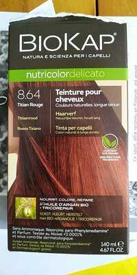 BIOKAP - Teinture pour cheveux 8.64 titian rouge