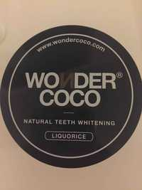 Wondercoco - Liquorice - Natural teeth whitening