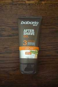 BABARIA - Men - After shave aloe gel 3 effects