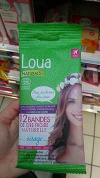 LAURENCE DUMONT - Loua - Bandes de cire froide naturelle