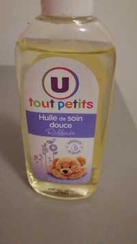 BY U - Tout petits - Huile de soin douce raffinée