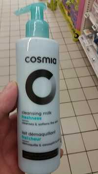 Cosmia - Lait démaquillant fraîcheur