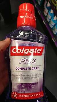COLGATE - Plax complete care - Bain de bouche 12 en 1
