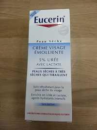 Eucerin - Crème visage émolliente - Soin réhydratant pour la peau sèche du visage