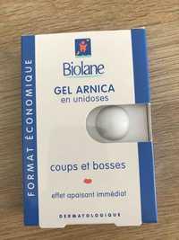 BIOLANE - Gel arnica en unidoses - Coups et bosses