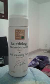 MARY COHR - Ecobiology - Mousse nettoyante visage