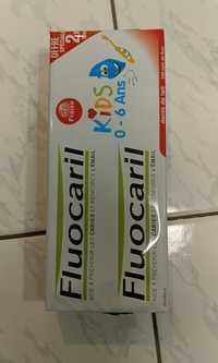 FLUCORIL - Dentifrice kids 0-6 ans gel fraise