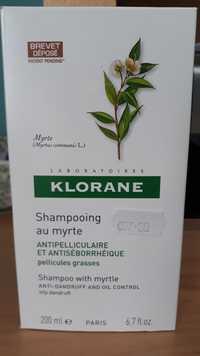 KLORANE - Shampooing au myrte