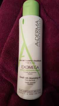 A-DERMA - Exomega - Huile nettoyante émolliente