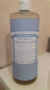 DR. BRONNER'S - Pure castile liquid soap baby mild uUnscented