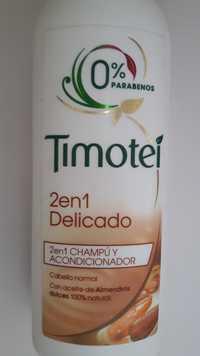 Timotei - 2 en 1 delicado - Champú y acondicionador