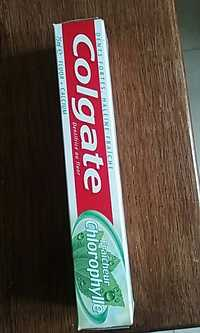 Colgate - Fraîcheur chlorophylle - Dentifrice au fluor