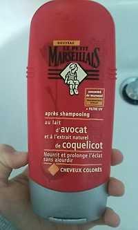 LE PETITS MARSEILLAIS - Après shampooing au lait d'avocat et à l'extrait naturel de coquelicot