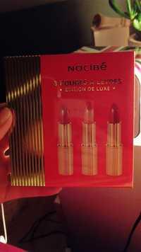 NOCIBÉ - Rouges à lèvres - Edition de luxe