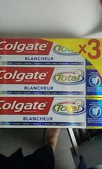 COLGATE - Total - Dentifrice au fluor