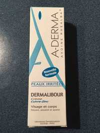 A-DERMA - Dermalibour - Crème cuivre-zinc visage et corps