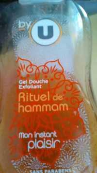 By U - Rituel de hammam - Gel douche exfoliant