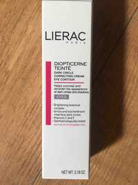 LIÉRAC - Diopticerne teinté - Correcting cream eye contour