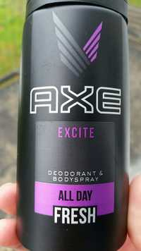 AXE - Excité - Deodorant & bodyspray
