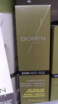 Biomen - Soin anti-âge
