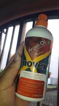 NOVEX - Argan oil - Après-shampooing sans rinçage