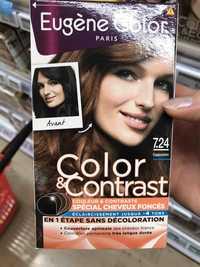 EUGÈNE COLOR - Color & contrast - Coloration permanente 7.24 Cappuccino