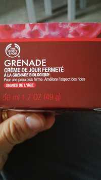 THE BODY SHOP - Grenade - Crème de jour fermeté