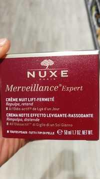 Nuxe - Merveillance Expert - Crème nuit lift-fermeté