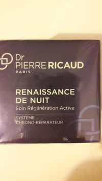 Dr Pierre Ricaud - Renaissance de nuit - Soin régénération active