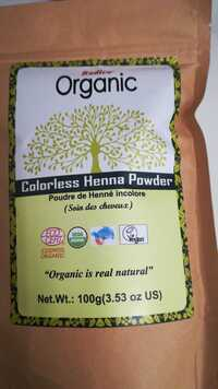 RADICO ORGANIC - Poudre de Henné incolore