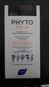 Phyto - Permanent color 5 light brown