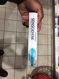 SENSODYNE - Limpeza & frescura - Pasta dentifrica com fluor