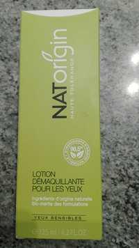 Natorigin - Lotion démaquillant pour les yeux