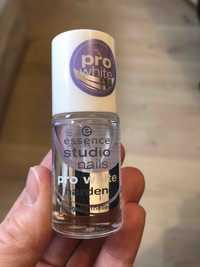 Essence - Studio nails pro white harden