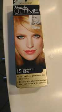 Schwarzkopf - Blonde ultime - Lightening spray