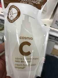 Cosmia - Crème lavante mains - Noix de coco