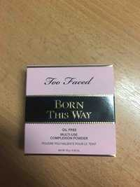 TOO FACED - Born this way - Poudre polyvalente pour le teint