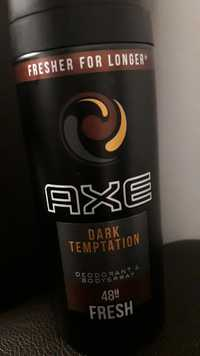 AXE - Dark temptation - Deodorant & bodyspray 48h fresh